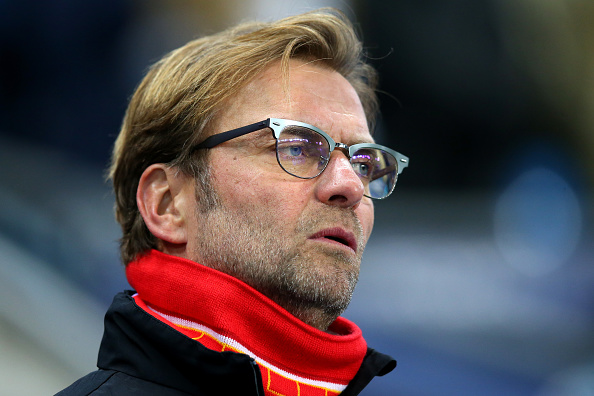 MANCHESTER, ENGLAND - NOVEMBER 21: Jurgen Klopp, manager of Liverpool looks on prior to the Barclays Premier League match between Manchester City and Liverpool at Etihad Stadium on November 21, 2015 in Manchester, England.  (Photo by Alex Livesey/Getty Images)