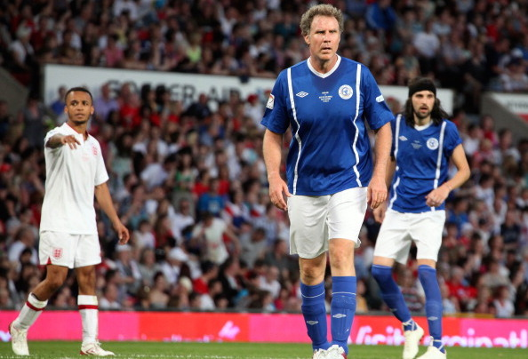MANCHESTER, UNITED KINGDOM - MAY 27: Will Ferrell attends The Soccer aid foorball match in aid of UNICEF at Old Trafford at Old Trafford on May 27, 2012 in Manchester, England. (Photo by Nathan Cox/Getty Images)