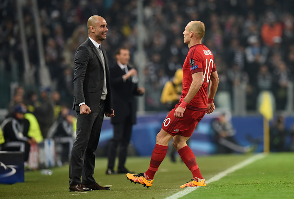 during the UEFA Champions League round of 16, first leg match between Juventus and FC Bayern Muenchen at Juventus Arena on February 23, 2016 in Turin, Italy.