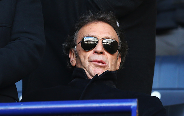 BOLTON, ENGLAND - JANUARY 30:  Massimo Cellino, owner of Leeds United looks on during The Emirates FA Cup Fourth Round match between Bolton Wanderers and Leeds United at Macron Stadium on January 30, 2016 in Bolton, England.  (Photo by Matthew Lewis/Getty Images)