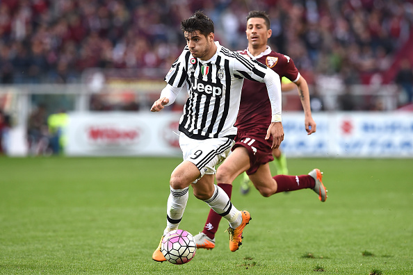 during the Serie A match between Torino FC and Juventus FC at Stadio Olimpico di Torino on March 20, 2016 in Turin, Italy.