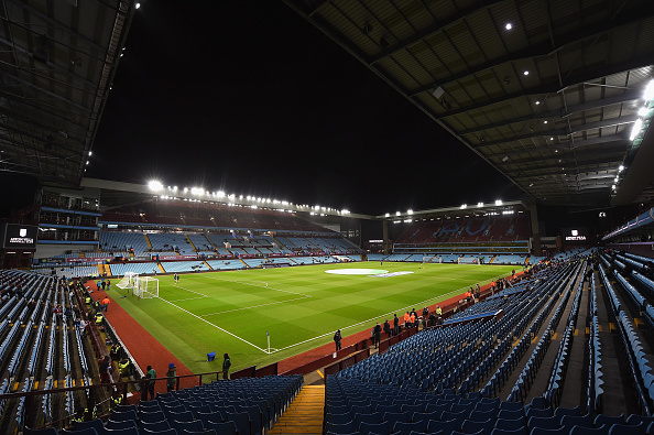 BIRMINGHAM, ENGLAND - MARCH 01:  A view inside the stadium before the Barclays Premier League match between Aston Villa and Everton at Villa Park on March 1, 2016 in Birmingham, England.  (Photo by Shaun Botterill/Getty Images)
