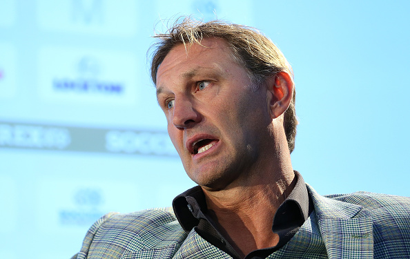 MANCHESTER, ENGLAND - SEPTEMBER 08:  Former England and Arsenal player Tony Adams talks about 'Sporting Chance' during day four of the Soccerex - Manchester Convention at Manchester Centralon September 8, 2015 in Manchester, England.  (Photo by Jan Kruger/Getty Images)