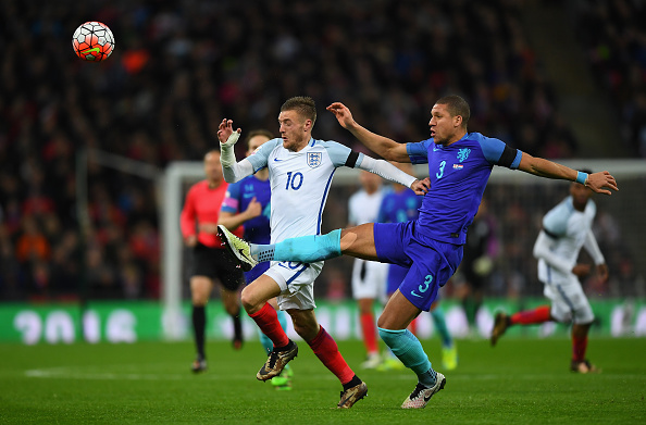 during the International Friendly match between England and Netherlands at Wembley Stadium on March 29, 2016 in London, England.