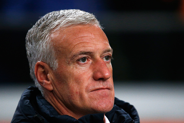AMSTERDAM, NETHERLANDS - MARCH 25:  France Coach Didier Deschamps looks on during the International Friendly match between Netherlands and France at Amsterdam Arena on March 25, 2016 in Amsterdam, Netherlands.  (Photo by Dean Mouhtaropoulos/Getty Images)