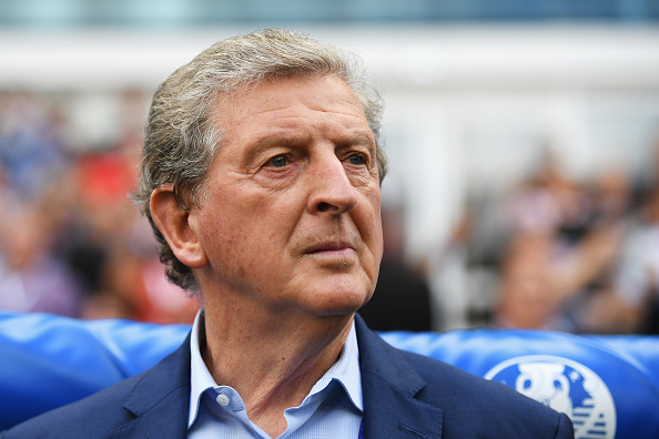 LENS, FRANCE - JUNE 16:  Roy Hodgson manager of England looks on prior to the UEFA EURO 2016 Group B match between England and Wales at Stade Bollaert-Delelis on June 16, 2016 in Lens, France.  (Photo by Matthias Hangst/Getty Images)