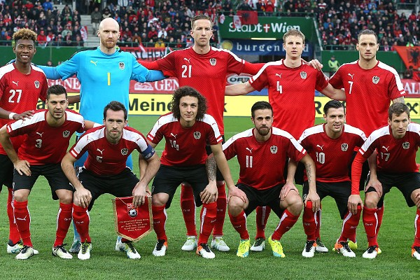 during the international friendly match between Austria and Albania at the Ernst-Happel-Stadion on March 26, 2016 in Vienna, Austria.