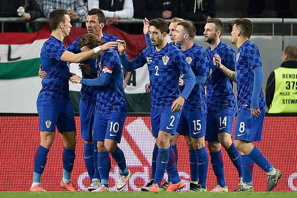 +++ during the International Friendly match between Hungary and Croatia at Groupama Arena on March 26, 2016 in Budapest, Hungary.