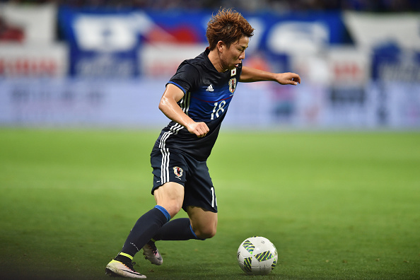 xxx during the international friendly match between Japan and Bosnia and Herzegovina at the Suita City Football Stadium on June 7, 2016 in Suita, Osaka, Japan.