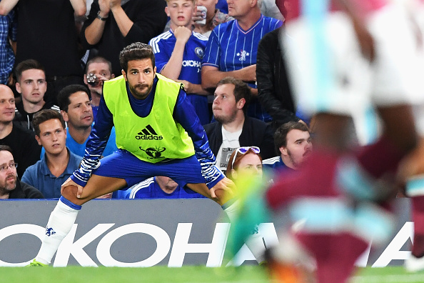 during the Premier League match between Chelsea and West Ham United at Stamford Bridge on August 15, 2016 in London, England.