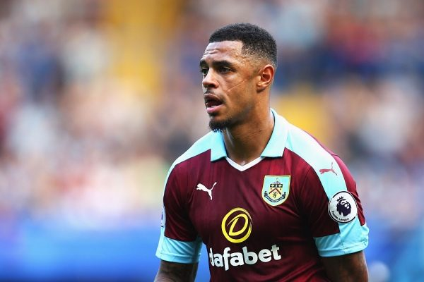LONDON, ENGLAND - AUGUST 27: Andre Gray of Burnley in action during the Premier League match between Chelsea and Burnley at Stamford Bridge on August 27, 2016 in London, England.  (Photo by Steve Bardens/Getty Images)