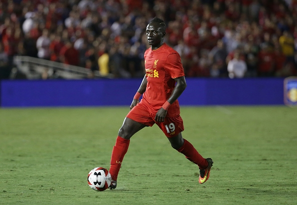 # of Chelsea # of Liverpool during the 2016 International Champions Cup at Rose Bowl on July 27, 2016 in Pasadena, California.