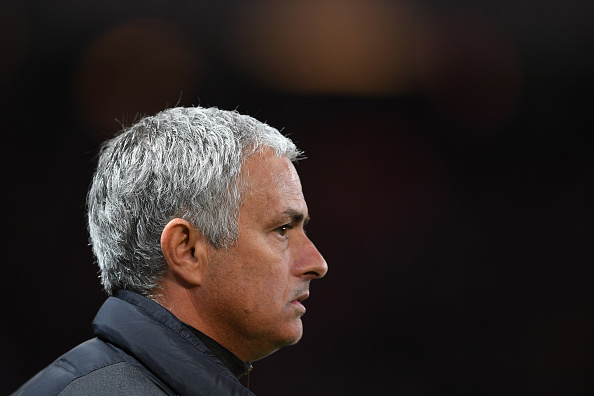 MANCHESTER, ENGLAND - OCTOBER 20:  Jose Mourinho the manager of Manchester United looks on during the UEFA Europa League Group A match between Manchester United FC and Fenerbahce SK at Old Trafford on October 20, 2016 in Manchester, England.  (Photo by Laurence Griffiths/Getty Images)