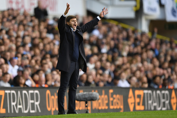 LONDON, ENGLAND - OCTOBER 02:  Mauricio Pochettino, Manager of Tottenham Hotspur reacts during the Premier League match between Tottenham Hotspur and Manchester City at White Hart Lane on October 2, 2016 in London, England.  (Photo by Shaun Botterill/Getty Images)