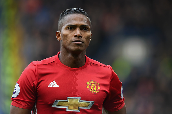 LONDON, ENGLAND - OCTOBER 23:  Luis Antonio Valencia of Manchester United in action during the Premier League match between Chelsea and Manchester United at Stamford Bridge on October 23, 2016 in London, England.  (Photo by Mike Hewitt/Getty Images)