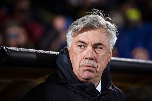 ROSTOV-ON-DON, RUSSIA - NOVEMBER 23:  Coach Carlo Ancelotti of FC Bayern Muenchen looks on during the UEFA Champions League match between FC Rostov and Bayern Muenchen at Olimp-2 on November 23, 2016 in Rostov-on-Don, Russia.  (Photo by Joosep Martinson/Bongarts/Getty Images)