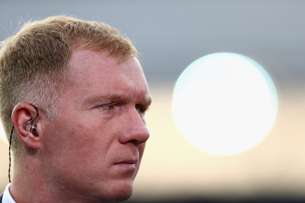 ROTTERDAM, NETHERLANDS - SEPTEMBER 15: Paul Scholes looks on prior to the UEFA Europa League Group A match between Feyenoord and Manchester United FC at Feijenoord Stadion on September 15, 2016 in Rotterdam, .  (Photo by Dean Mouhtaropoulos/Getty Images)