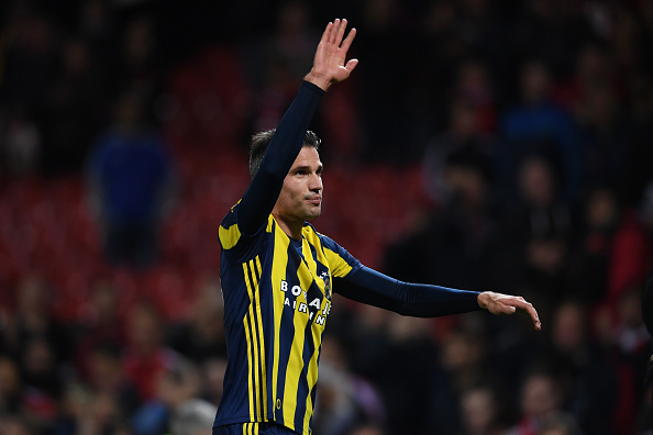 during the UEFA Europa League Group A match between Manchester United FC and Fenerbahce SK at Old Trafford on October 20, 2016 in Manchester, England.