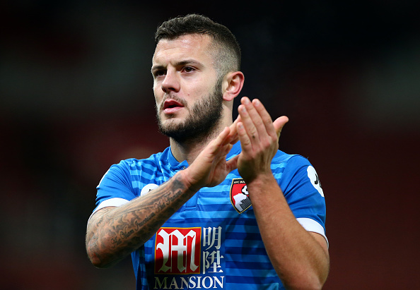 STOKE ON TRENT, ENGLAND - NOVEMBER 19: Jack Wilshere of AFC Bournemouth during the Premier League match between Stoke City and AFC Bournemouth at Bet365 Stadium on November 19, 2016 in Stoke on Trent, England. (Photo by Dave Thompson/Getty Images)