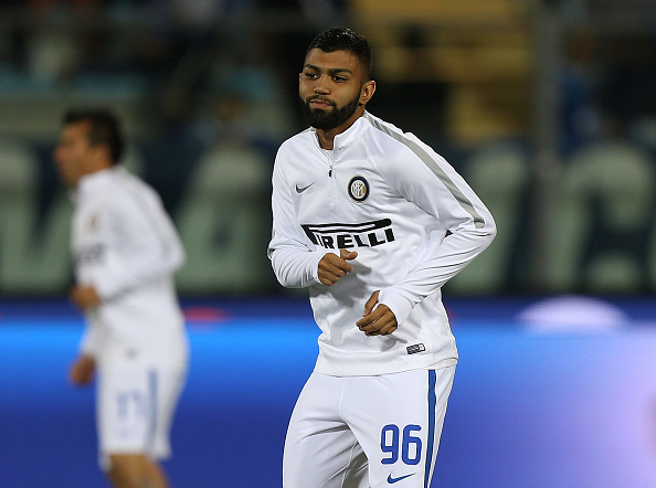EMPOLI, ITALY - SEPTEMBER 21: Gabriel Barbosa Almeida of FC Internazionale during the Serie A match between Empoli FC and FC Internazionale at Stadio Carlo Castellani on September 21, 2016 in Empoli, Italy.  (Photo by Gabriele Maltinti/Getty Images)