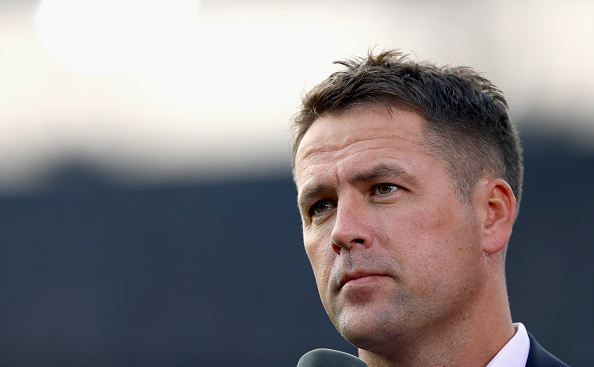 ROTTERDAM, NETHERLANDS - SEPTEMBER 15:  Michael Owen looks on prior to the UEFA Europa League Group A match between Feyenoord and Manchester United FC at Feijenoord Stadion on September 15, 2016 in Rotterdam, .  (Photo by Dean Mouhtaropoulos/Getty Images)